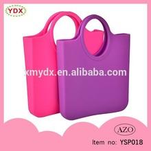 Top brand water resistant eco friendly silicone designer handbag