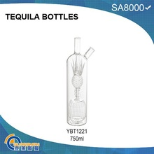 YBT1221 GLASS TEQUILA BOTTLES