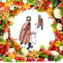 Folding Shopping Cart/Folding Shopping Trolley/Foldable Shopping Trolley