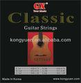 China cordas da guitarra clássica/harpa celta