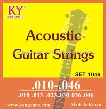 Cordas da guitarra acústica, Importação guitarra china