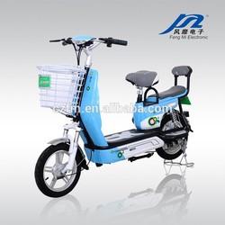 Recreational Vehicle 48V 12A 350W High Speed Electric Bike - FLOWERY