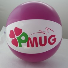 PVC inflatable beach ball for advertising