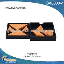 De madera del rompecabezas de rompecabezas patrones juego de Puzzle para niño