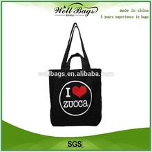 Printed cotton bag/custom printed canvas tote bag/promotional bag