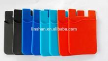 3m silicone smartphone wallet silicone Back Pocket silicone smart wallet