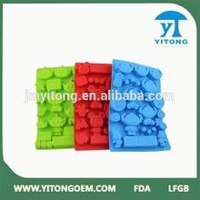 Custom shape Multi color Silicone Chocolate Mold