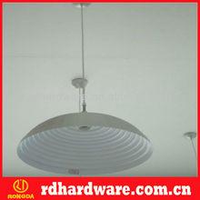 European aluminum lampshade