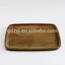 big size OAK wood servining tray sushi board oak wood pastry plate