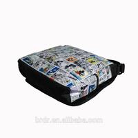 Wholesale Cheap Price Cartoon Printed Messenger Bag for School Children