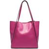High Capacity tote travel bag soft genuine leather duffle bag