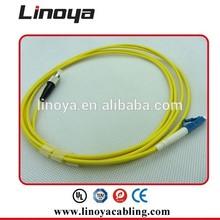 Plenum Jacket Fiber Patch Cord LC-ST Simplex With High Mechanical Durability