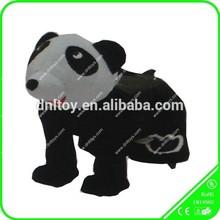 electric riding toys kid riding panda toy, motorized plush panda toy