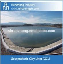 waterproofing dam liner geosynthetic clay liner