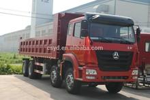 2015 New 8*4 336HP SINOTRUK HOHAN Dump Truck / Dump Tipper Loading Capacity