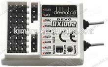 Walkera RX1202 2.4Ghz RC 12 Channel Controller Transmitter Receiver for Walkera Devention DEVO 12S DEVO F12E Transmitter