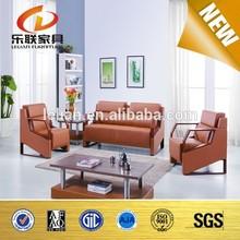 2015 Modern Designs Solid Wood Frame Office Sofa