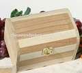 simple de madera caja de regalo