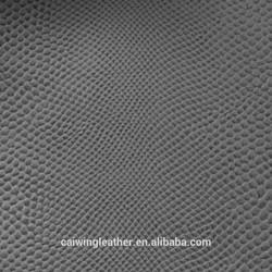 PVC car leather /pvc leather malaysia/pvc leather for sofa CW417