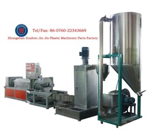 Plastic recycling extruder machine to pellet the hdpe\ldpe\ppr\po film