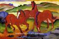 印象派馬のペインティングdiyの絵画番号で有名な動物の