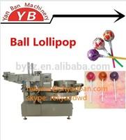 YB-120 Automatic Twist Lollipop Packing Machine, ball lollipop wrapping machine