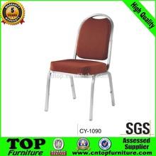 Factory Price Aluminium Modern price steel banquet chair CY-1090