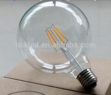 FiLED filament bulb fabricated 8W E27