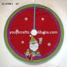"""42"""" Luxury christmas tree skirt / Xmas tree skirt / christmas tree decoration"""