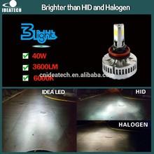 IDEA Patent 40W 3600 Lumen H8 car lights led