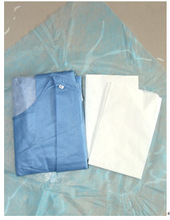 Disposable sms Waterproof Patient Gown
