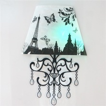 Fashionable Decor 3D Wall Sticker with LED Lamp