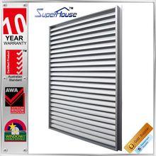 Australia standard AS2047 | fashion sunshade | exterior glass louver window