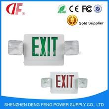 Emergency light CE RoHS SAA 3 Years Warranty LED Exit Sign light IP33 Emergency LED Exit light