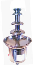 full stainless steel 4 tiers big chocolate fountain for evening Party
