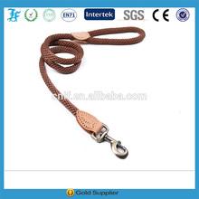 Brown Nylon round rope Large,medium-sized rope Heavy-Duty Pet leash