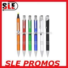 Good Quality 2 In 1 Ballpoint Pen/ Plastic Ball Pen/ Plastic Ballpoint Pen