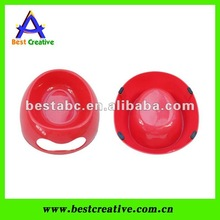Plastic pet water bowl