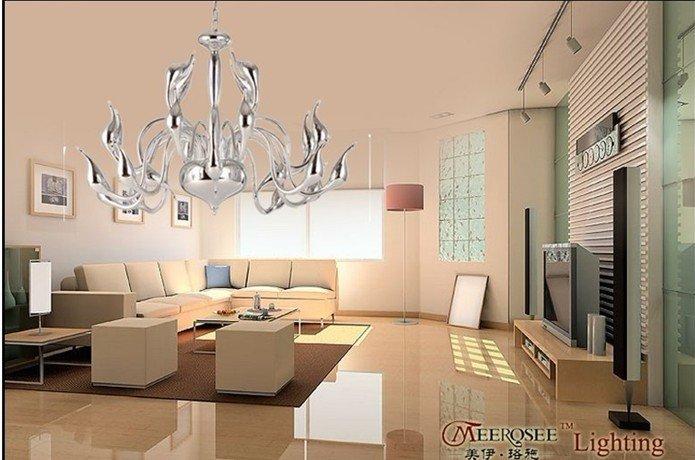 lampadari stile moderno : europeo moderno stile di disegno cigno ciondolo lampadario con ...