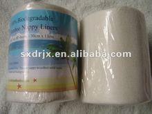 biodegradable bamboo diaper liners