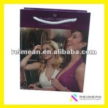2013 Reimean Custom Printed Shopping Bag With PP Handle