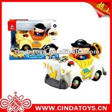 funny pirate plastic Educational toy cartoon car