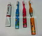 mini promotional funny pen tooh paste tooth brush ballpen/mini creative ballpen/giant ballpen