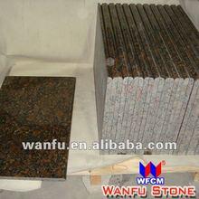 2013 new design tan brown granite slab edge