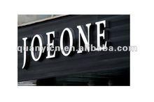 Exquisite aluminium profile shop front signs