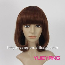 sweet pear head style wigs with full bangs XC670-331