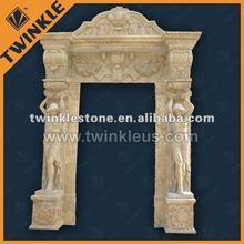 Stone Interior Ancient door frame design