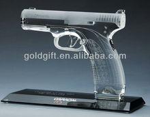 antique crystal gun model