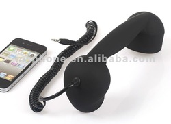 3.5MM Universal for All Smart Phones Retro Corded Phone Handset