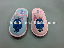 new design cotton indoor slippers,lady slipper, hotel slipper